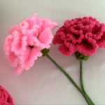 How To Crochet Carnation Flower