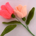 How To Crochet Tulip Flowers