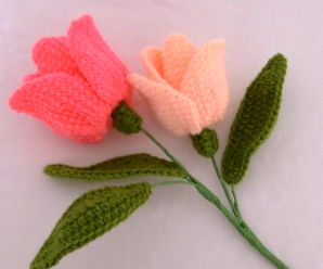 How To Crochet Tulip Flowers