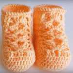 Crochet Easy Shoes For Babies