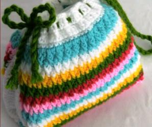 Crochet Very Easy 3 D Bag