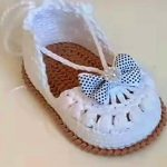 How To Crochet Baby Girl Espadrilles