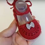 Crochet Easy Baby Girl Shoes