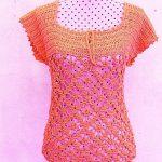Crochet Fast And Beautiful Blouse