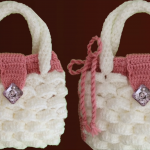 Crochet Easy Marshmallow Stitch Bag