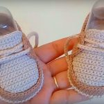 Crochet Baby Moccasin Shoes