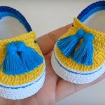 Crochet Stylish And Comfortable Baby Shoes
