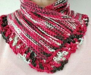Crochet Stylish Neck Warmer