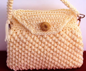 Crochet Easy Handbag Video Tutorial