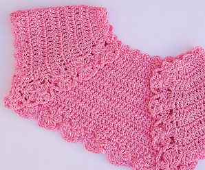 Crochet Baby Girl Bolero