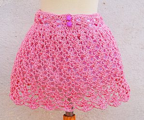 Crochet Fast And Easy Baby Skirt