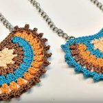 Crochet Boho Style Necklace