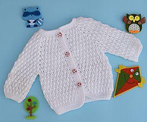 Crochet Baby Jacket (Unisex)