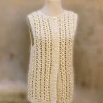 Crochet Stylish Jacket Vest