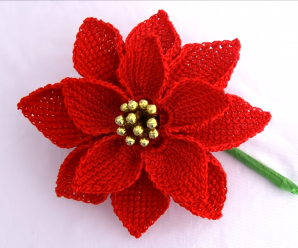 Crochet Amazing Flower Video Tutorial