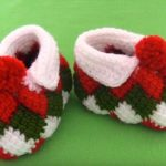 Crochet Super Easy And Beautiful Baby Shoes