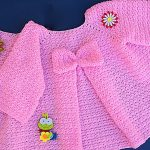 Crochet Fast And Easy Baby Girl Coat