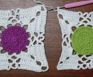 Crochet Circle Granny Square