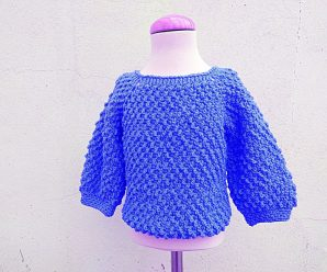 Crochet Fast And Easy Baby Sweater