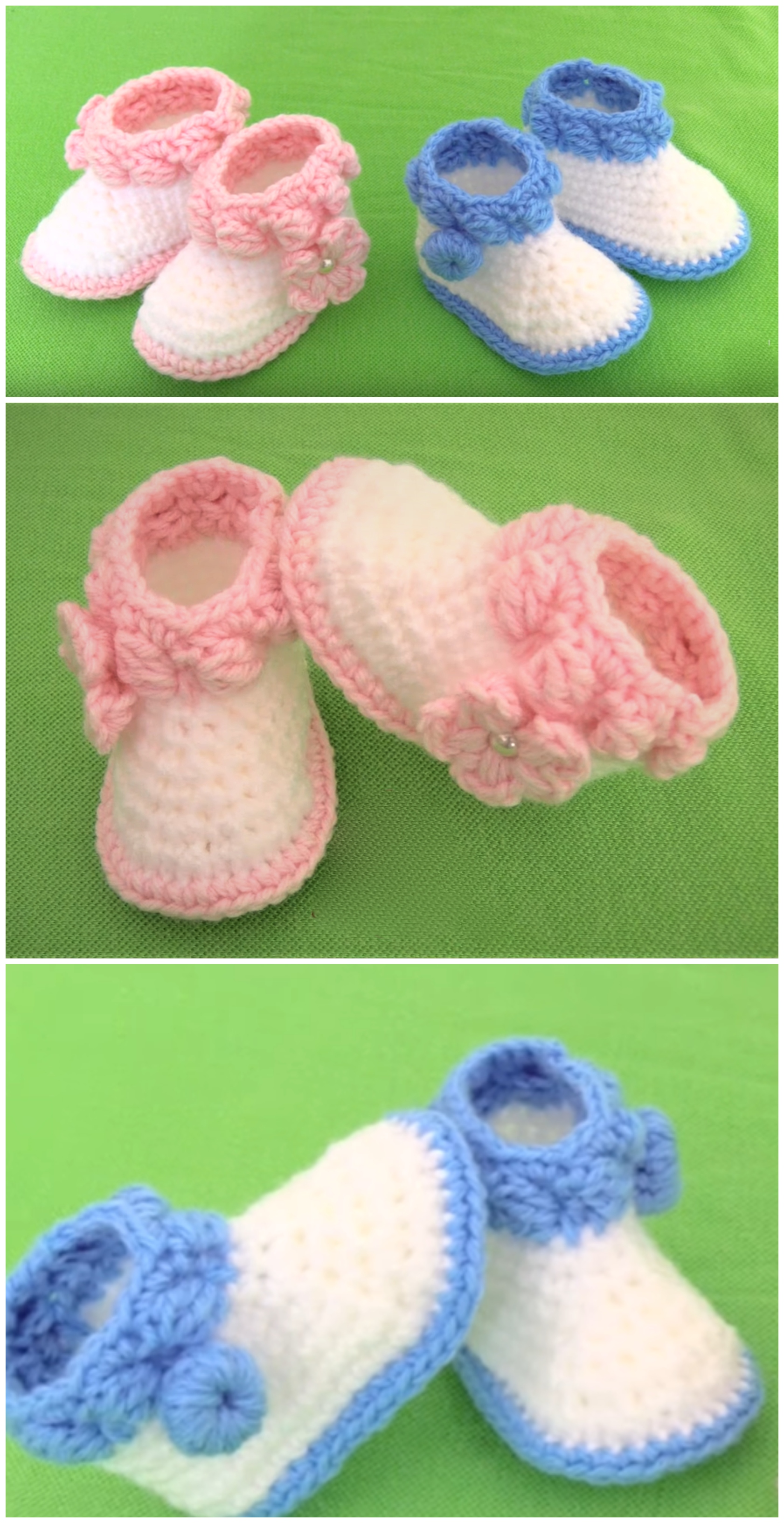 crochet shoes for baby girl