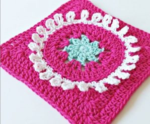 Crochet Beautiful Granny Square In 25 Minutes