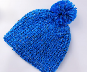 How To Crochet Super Easy Hat