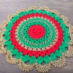 Crochet Christmas Doily