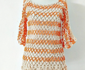 How To Crochet Fast And Easy Tunic