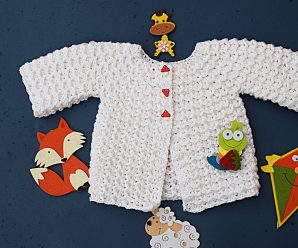 Crochet Lovely Jersey For Babies