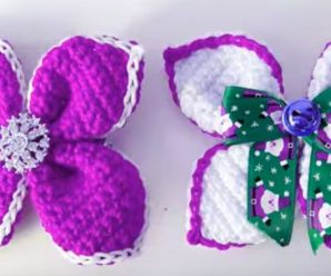 Crochet Fast And Easy Hair Bows