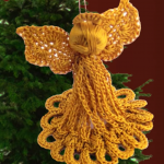 How To Crochet Angels For Christmas Decoration
