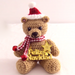 Easy Teddy Bear For Christmas