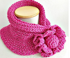 Crochet Fast And Easy Neck-warmer