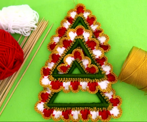 Crochet Decorative Christmas Tree