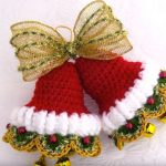 Decor Idea For Christmas – Crochet Bells