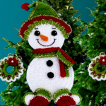 Crochet Super Easy Snowman For Christmas