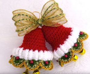 Decor Idea For Christmas – Crochet Bells