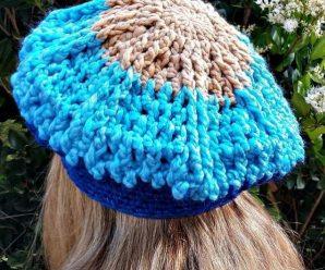 Crochet Super Easy And Stylish Beret Hat