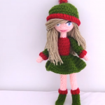 Christmas Doll –  Decoration Idea