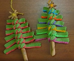 How To Crochet Creative Christmas Tree