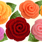 Crochet 3 D Flower In 5 Minutes
