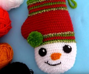 Crochet Snowman Potholders For Christmas