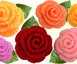 Crochet 3 D Flower In 5 Minutes