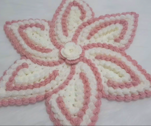 Crochet Star Flower Video Tutorial