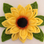 Crochet Fast And Easy Sunflower