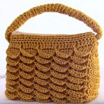 Crochet Stylish 3 D Bag