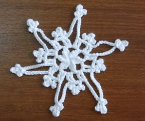 Crochet Lovely Snowflake Video Tutorial