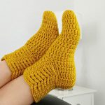 How To Crochet Socks Easily