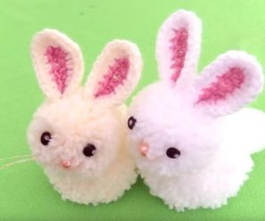 Crochet Bunny Toy For Gifts
