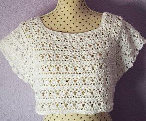 Crochet Stylish Bolero For Women